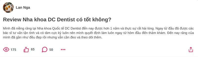 nha khoa quốc tế DC Dentist có tốt không, nha khoa dc dentist, nha khoa quốc tế dc dentist, dcdentist, nha khoa dentist, dc dentist tây sơn, nha khoa thẩm mỹ dc dentist, nha khoa thẩm mỹ quốc tế dc dentist, trung tâm nha khoa DC dentist