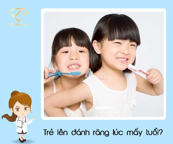 Trẻ em nên đánh răng lúc mấy tuổi? Cách giúp bé tự giác đánh răng hiệu quả