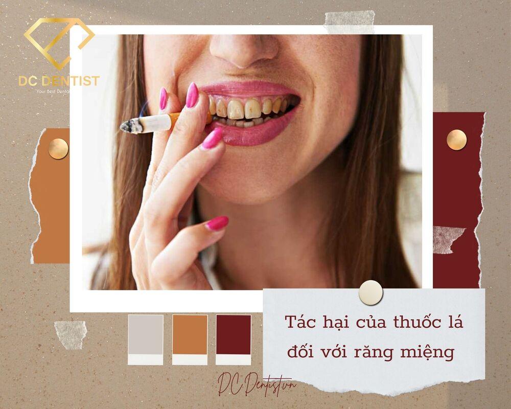 tác hại của thuốc lá đối với răng miệng, hút thuốc lá có hại cho răng không, tác hại của thuốc lá với răng miệng, tác hại của thuốc lá đối với răng miệng